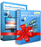 NoteBurner M4V Converter Plus + Any Video Converter Ultimate