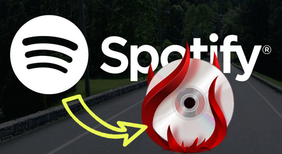 graver Spotify Music sur CD